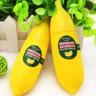 👩Hand Care Lotion Moisture Nourishing Banana Hand Cream👩