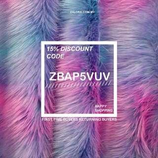 Zalora discount code (5)