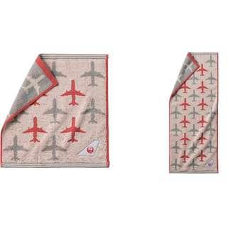 JAL 日本航空原創 洗面巾及毛巾套裝