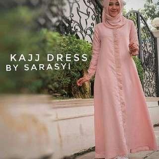 IKN - 0218 - Dress Busana Muslim Wanita Kajj