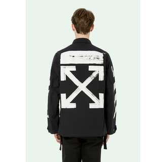 Off White 17FW Brushed Field Jacket