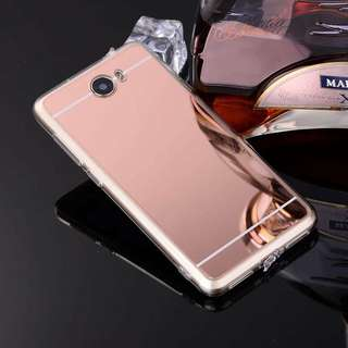 Huawei Soft Jelly Mirror Case