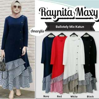 IKN - 0218 - Dress Busana Muslim Wanita Raynita