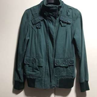 Bomber Jacket Green