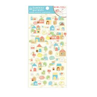 Only 2 Instock! (Mix & Match)*San-X Japan - Sumikko gurashi House theme Stickers