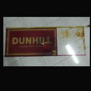 Dunhill signboard