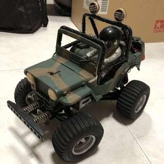 Vintage Tamiya Wild Willy M38