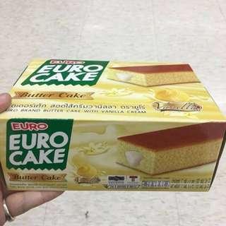 🚚 🌼泰國Euro Cake香草奶油爆漿蛋糕🌼