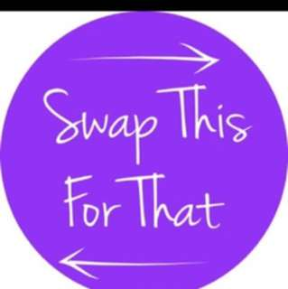 Like if you would like to swap any of my items