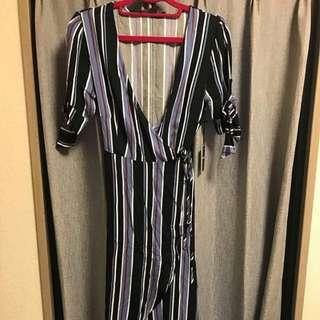 f21 wrap dress BNWT