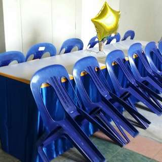Mini Event Renting Chair / Table & Skirting