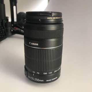 Canon EFS 55-250mm Zoom Lens