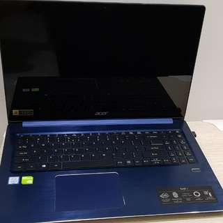 Few days old Acer swift 3