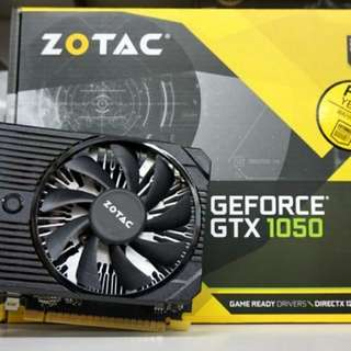 Zotac Gtx 1050 2GB 128bit Graphics Card