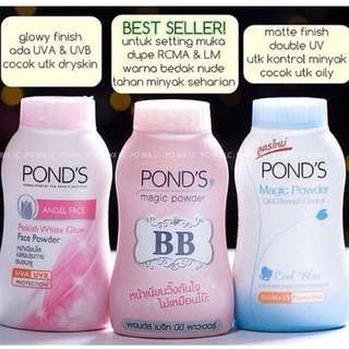 Pond's Magic Powder, Pond's Magic Powder BB, Pond's Angel Face