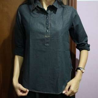 BLACK BLOUSE NO BRAND