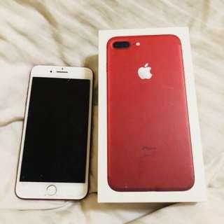 ip7 plus (red)