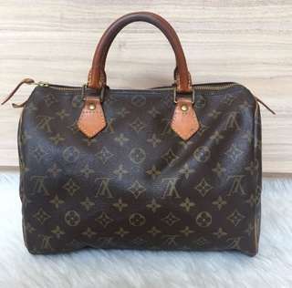 Preloved Louis Vuitton Speedy 25 Monogram Authentic
