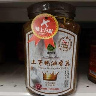 ✈大玩台灣代購✈御品能量上等鵝油香蔥350g