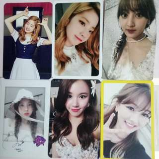 (WTS/WTT) TWICE Official Photocards