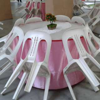 Mini Event Renting Table / Chair & Skirting