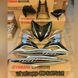 YAMAHA Y15ZR coverset original hly