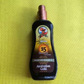 Australian Gold Sunscreen With Bronzer