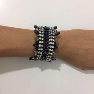 Black & Silver Tilkah Bracelet