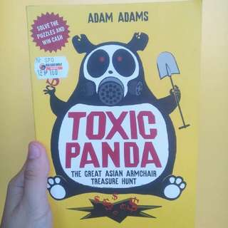 Toxic Panda Puzzle/Novel Book