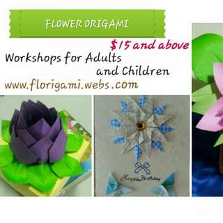 Flower Origami Workshops