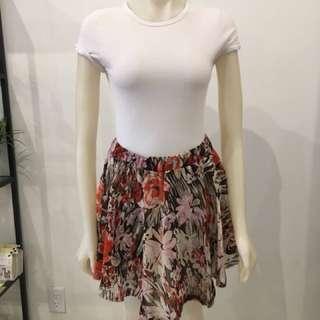 Enza Costa floral skirt