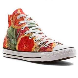 Converse Chuck Taylor All Star Grapefruit Print High Top Sneaker (Unisex)