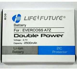 BATTREY BATREI BATRE EVERCOSS A7Z DOUBLE POWER