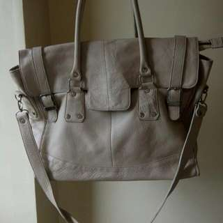 Leather Bag Large With Sling Strap