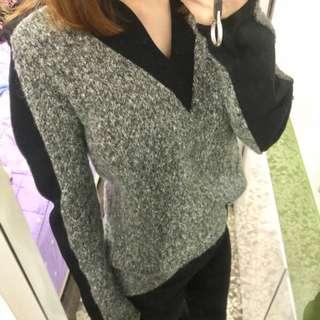 🚚含運🚚韓 超顯瘦v領針織上衣