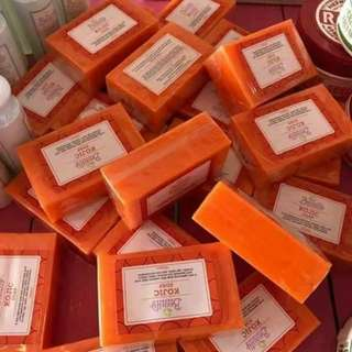 Lean and green kojic soap