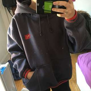 Thick puma hoodie