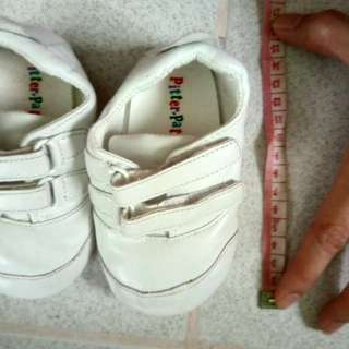 White rubber shoes for babies