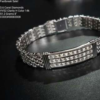Real Diamonds Bracelets In Hk Setting