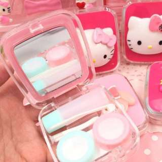 H.Kitty Contact lens case