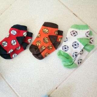 Bundle of socks for baby boy