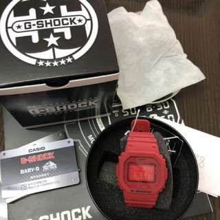 CASIO G-shock 35th anniversary RED OUT LIMITED EDITION DW-5635C-4