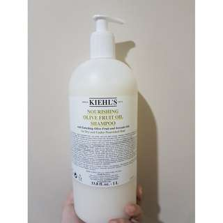 Kiehl's Nourishing Olive Fruit Oil Shampoo 1L