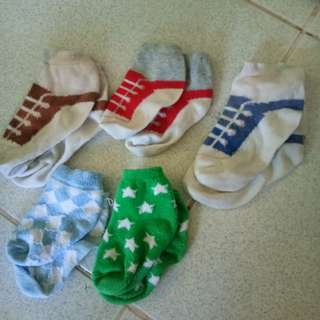 Bundle of socks for baby