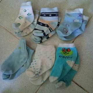Bundle of socks for babies