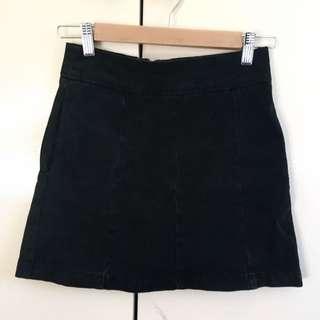 Size 6 Topshop Denim Mini Skirt