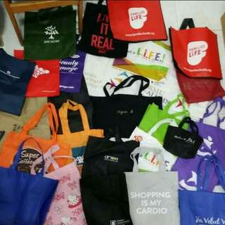 45+ Branded Bags In Total: Agnes B, On Pedder, Pedder Red, Uniqlo, Bread & Butter, Izzue And Many More!!