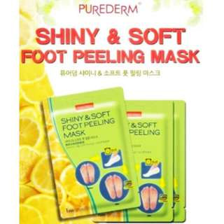 [PRE-ORDER] Purederm Shiny & Soft Foot Peeling Mask