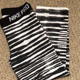 Women's Nike pro cropped leggings