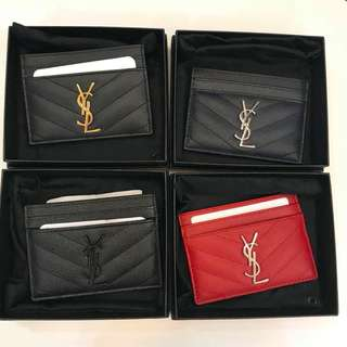 Just Dropped!! YSL Monogram Credit Card Case